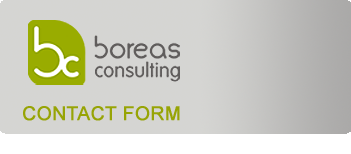 Contact form, BoreasConsulting